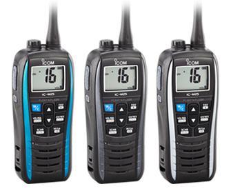 ICOM VHF Handheld Slim, Lightweight Marine Transceiver  - IC-M25