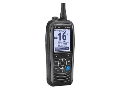 ICOM VHF Handheld Floating DSC Radio Marine Transceiver with DSC - IC-M93D