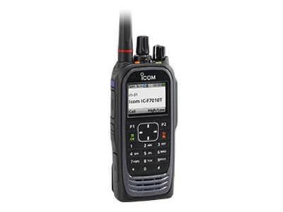 Icom VHF and UHF P25 Digital Transceivers - IC-F7010T