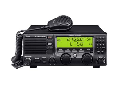 ICOM Fixed HF SSB Marine Radio - IC-M700PRO