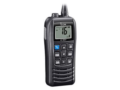 ICOM VHF Handheld with Float'n Flash Marine Transceiver - IC-M37