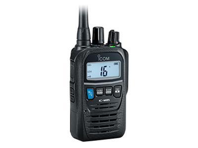 ICOM VHF Handheld Compact and Lightweight Marine Transceiver - IC-M85