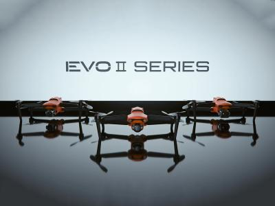 Autel Robotics 8K Foldable Drone - EVO II Dual