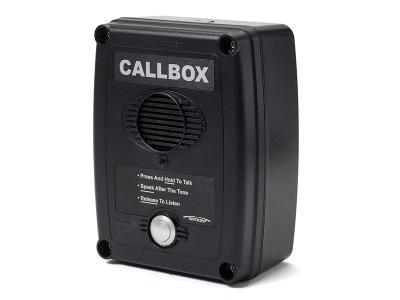 Ritron Q series 2-way Radio Callboxes - RQX-111M-BLK