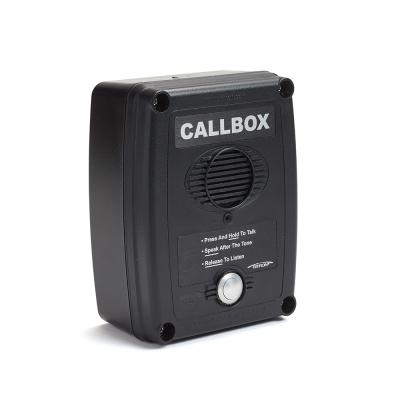 Ritron Q series 2-way Radio Callboxes - RQX-117M-BLK
