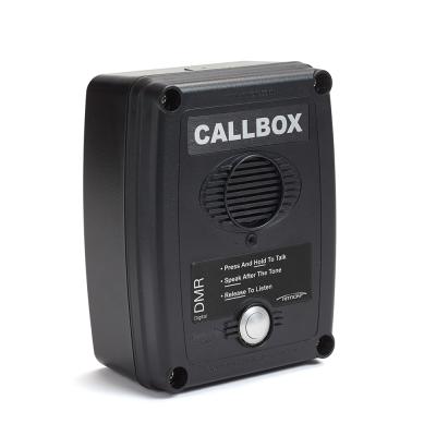 Ritron DMR Series 2-way Radio Callboxes - RQX-117DMR-BLK