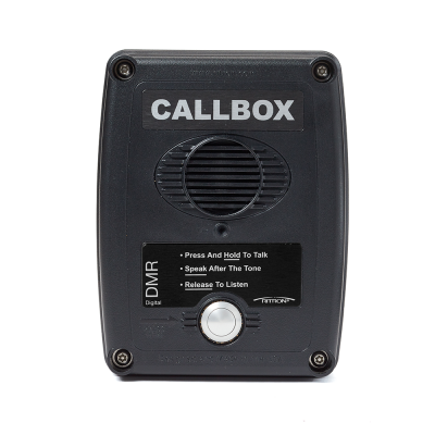 Ritron DMR Series 2-way Radio Callboxes - RQX-417DMR-BLK