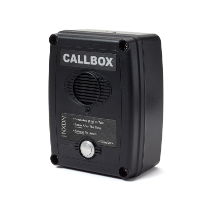 Ritron XD Series NXDN Digital and Analog  2-way Radio CallBoxes - RQX-417NX-BLK