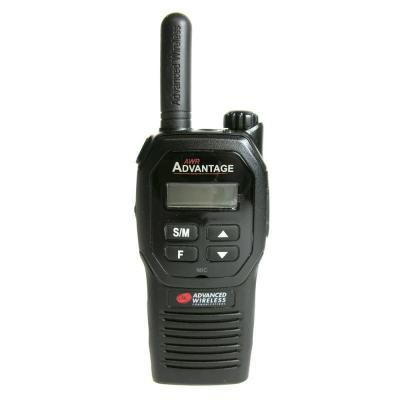 Advanced Wireless Communications UHF AWR Advantage Two-way Radio 106072 - AWR-4000