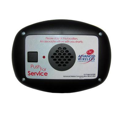 Advanced Wireless Communications AWC Wireless MINI Call Box - 900197 - MCB-H-BK-EN