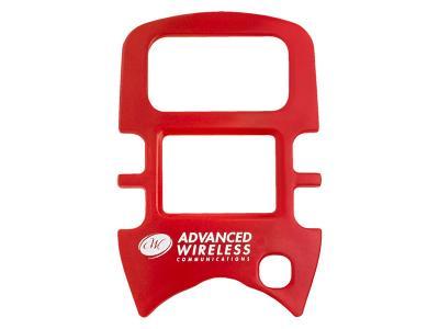 Advanced Wireless Communications MINI 4 Faceplate Red - 221294