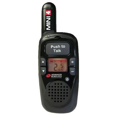 Advanced Wireless Communications Small and Lightweight Two-way Radio 106251 - MINI 4